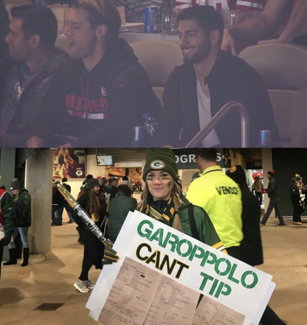 Jimmy Garappolo Called Out For Not Tipping By Girl On Instagram