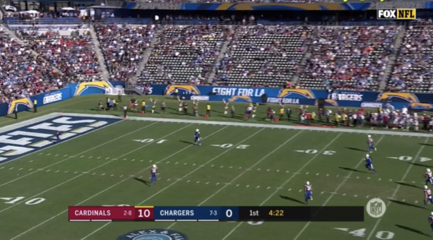 Chargers Announced Sellout In An Empty Stadium