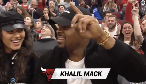 We Found The Hot Chick Who Was Sitting Courtside With Khalil Mack