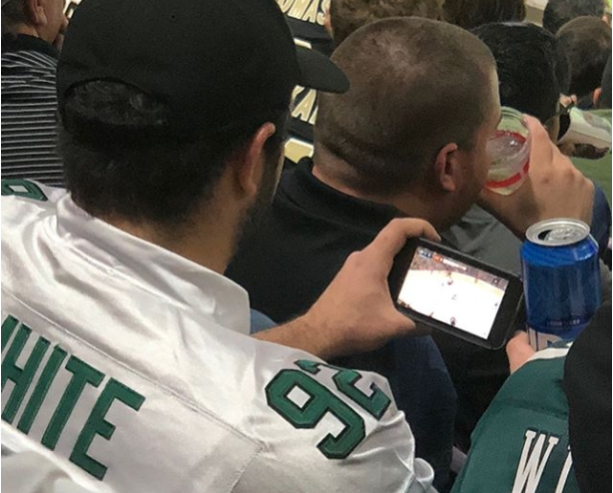 Eagles Fans Were Falling Asleep During Blowout (PICS)