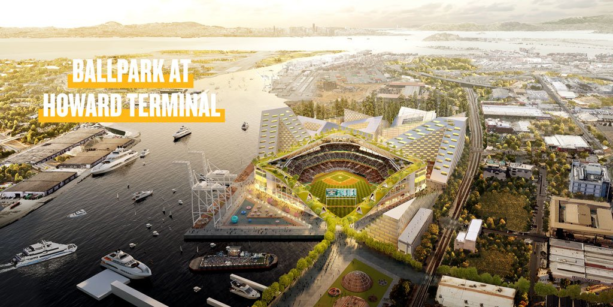 Oakland A's Reveal Plans To Build Stadium Near Downtown Oakland (PICS)