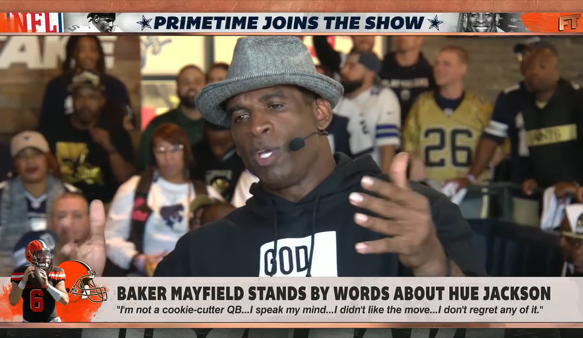 Deion Sanders Says Baker Mayfield Is Stuck In A 'college mindset'