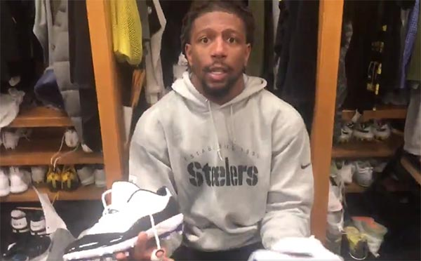 Steelers Players Removed Le'Veon Bell's Nameplate And Raided His Locker (VIDEO)