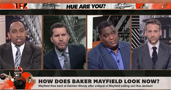 Stephen A. Smith & Will Cain Got Heated On First Take (VIDEO)