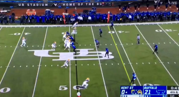 Kent State Had A Punt Against Buffalo For 0 Yards (VIDEO)