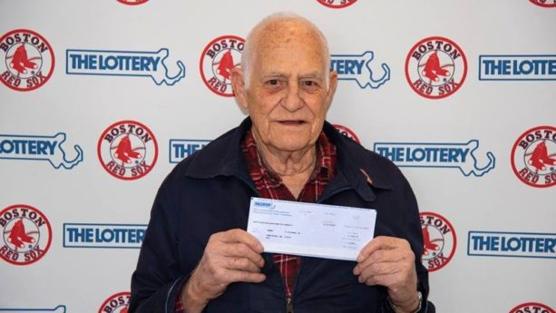84-Year-Old Man Wins $100K In Lottery By Playing Numbers Of Red Sox Players