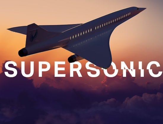 Video- Supersonic Air Travel Is Finally Coming Back