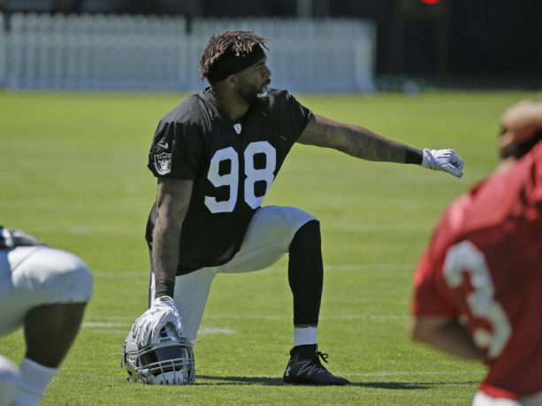 Raiders New DL Damontre Moore Was Just Working At Home Depot