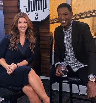 Scottie Pippen Out Of Retirement? Shoots His Shot With ESPN's Rachel Nichols