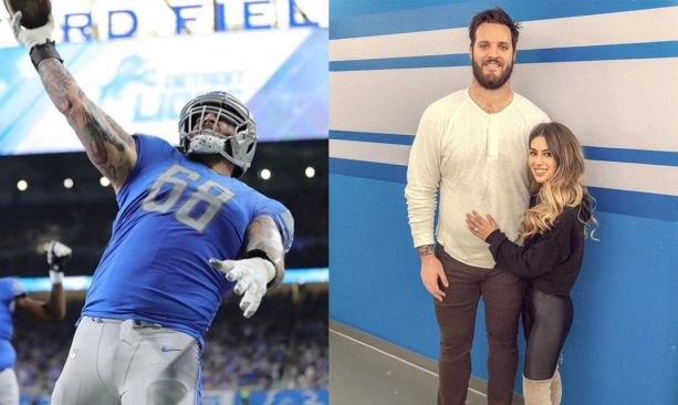 Lions OL Taylor Decker Is An All Around Lucky Guy
