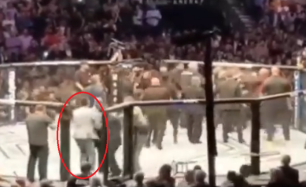 UFC Bans McGregor Fan Who Jumped Into The Octagon At UFC 229
