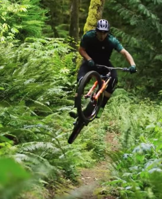 MTB Video- Cornering Carnage Through The Woods Of Washington