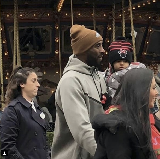 Kobe Bryant and Family Spotted At Disneyland Again