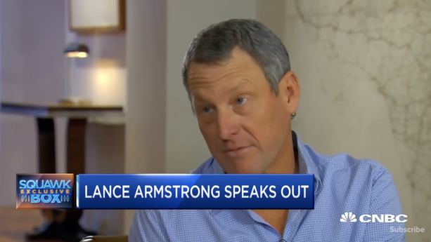 Lance Armstrong on escaping a $100 million lawsuit and Uber