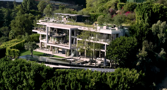 Checkout A Video Tour Of This Crazy Bell-Air Mansion