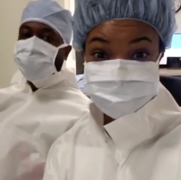 Gabrielle Union Shares Video of Her and Dwyane Wade Meeting Their Daughter