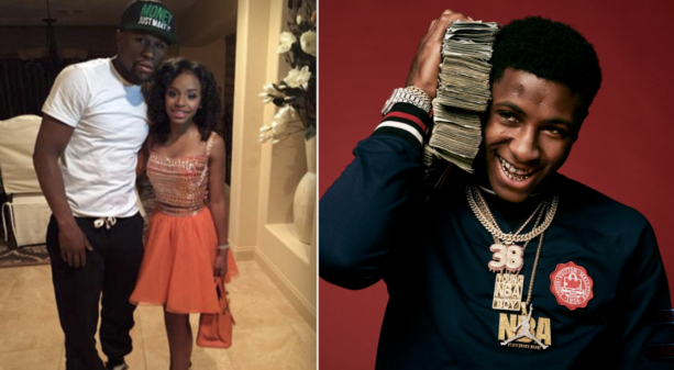 Rapper NBA Youngboy With Floyd Mayweather's Daughter?
