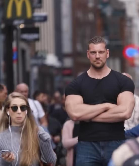 The Dutch Giant Olivier Richters| Tallest BODYBUILDER