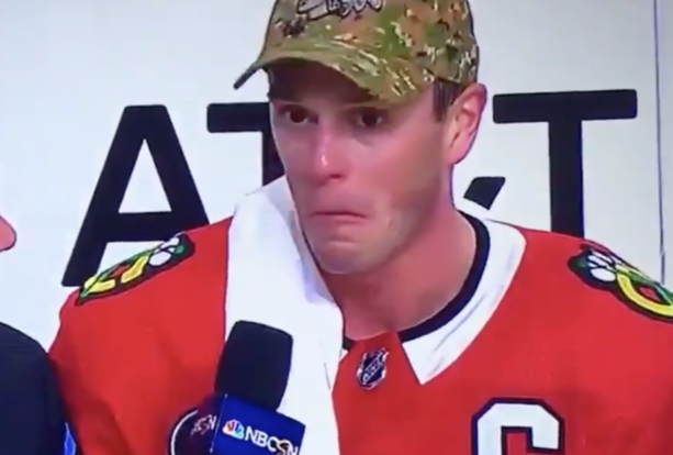 Pierre McGuire Checks In With Possibly His Most Uncomfortable Interview Ever