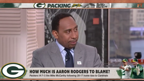 "Stephen A. Smith: Aaron Rodgers ""Quit On Mike McCarthy"" (VIDEO)"