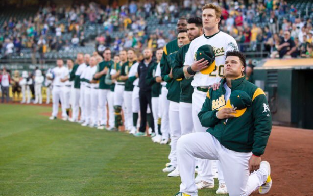 REPORT: Bruce Maxwell Might Never Play In MLB Again After Kneeling During Anthem