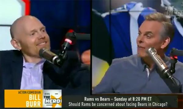 Bill Burr Slams Colin Cowherd For His Baker Mayfield Takes (VIDEO)