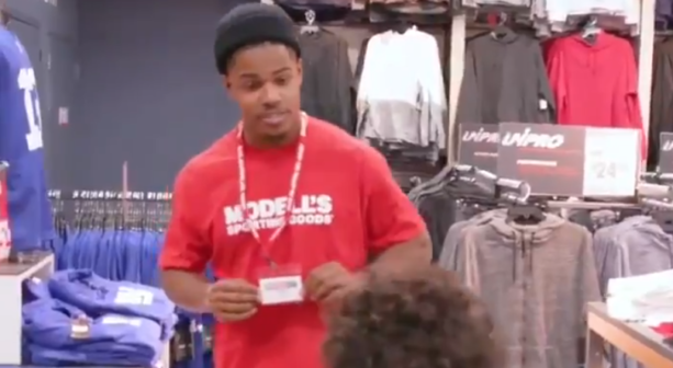 "Sterling Shepard Went Undercover & A Kid Called Him A ""Trash"" Football Player (VIDEO)"