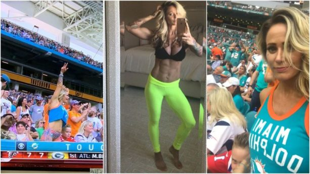 Fit Dolphins Girl Goes Viral During Game Vs. Patriots (VIDEO + PICS)