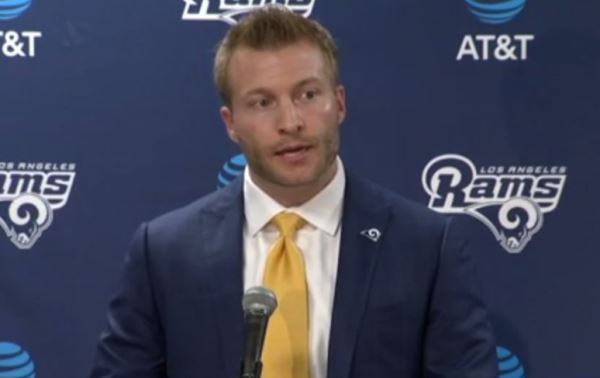 WATCH: Sean McVay Continues To Impress With His Football Knowledge