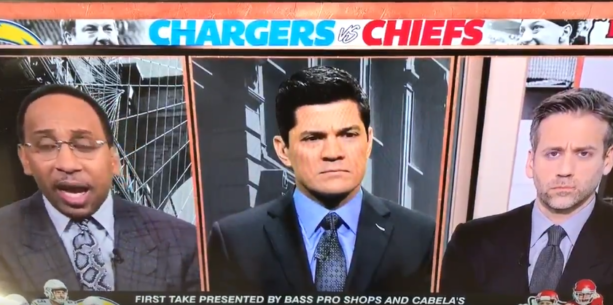 Tedy Bruschi Was Totally Confused When Stephen A. Smith Got 4 Things Wrong In A 30-Sec Span (VIDEO)