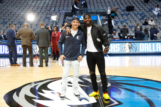 Dez Bryant Spotted At Mavericks Game With That Crocs Drip