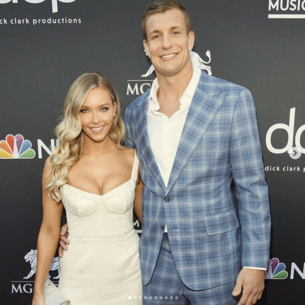 Camille Kostek Before And After: Camille Kostek Wishes Gronk A Happy 30th Birthday On The