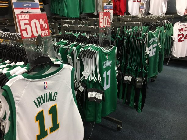 shades of so cheap best loved Kyrie Irving Celtics Gear Hits The Clearance Rack ⋆ Terez ...