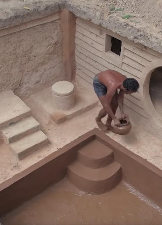 Building Underground House With Underground Swimming Pool ⋆ Terez ...