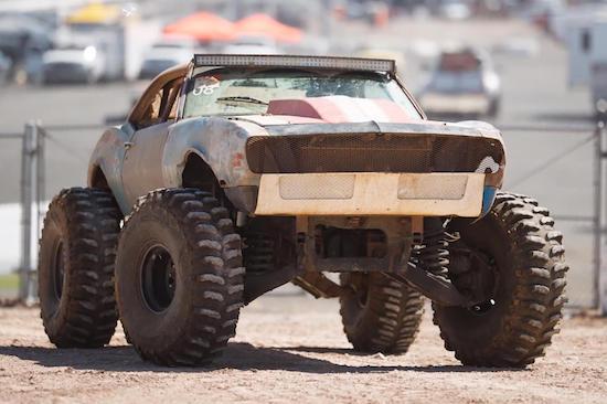 Video- Insane 650HP LS Powered Monster Truck Chevy Camaro Build