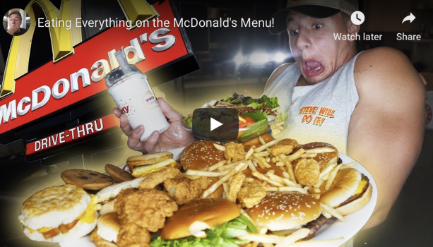 Video Checkout This Guys Who Eats Everything On The Mcdonalds Menu Terez Owens 1 Sports Gossip Blog In The World I completely understand nelk and stevewilldoit's image as being the 'bad boys of youtube' but steve's latest. checkout this guys who eats everything